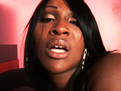 Ebony Tranny Getting Her Asshole Fucked Deeply